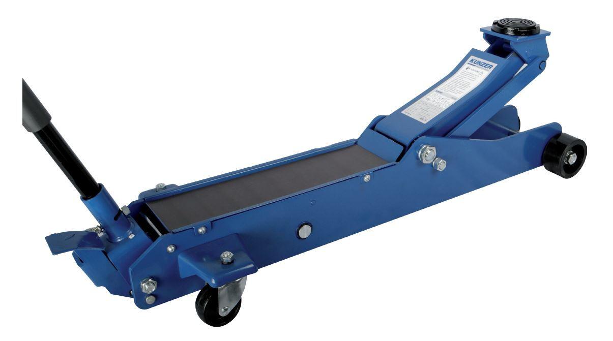 Hydraulický zvedák pojízdný 3 t, 140 - 530 mm, pro dodávky - Kunzer
