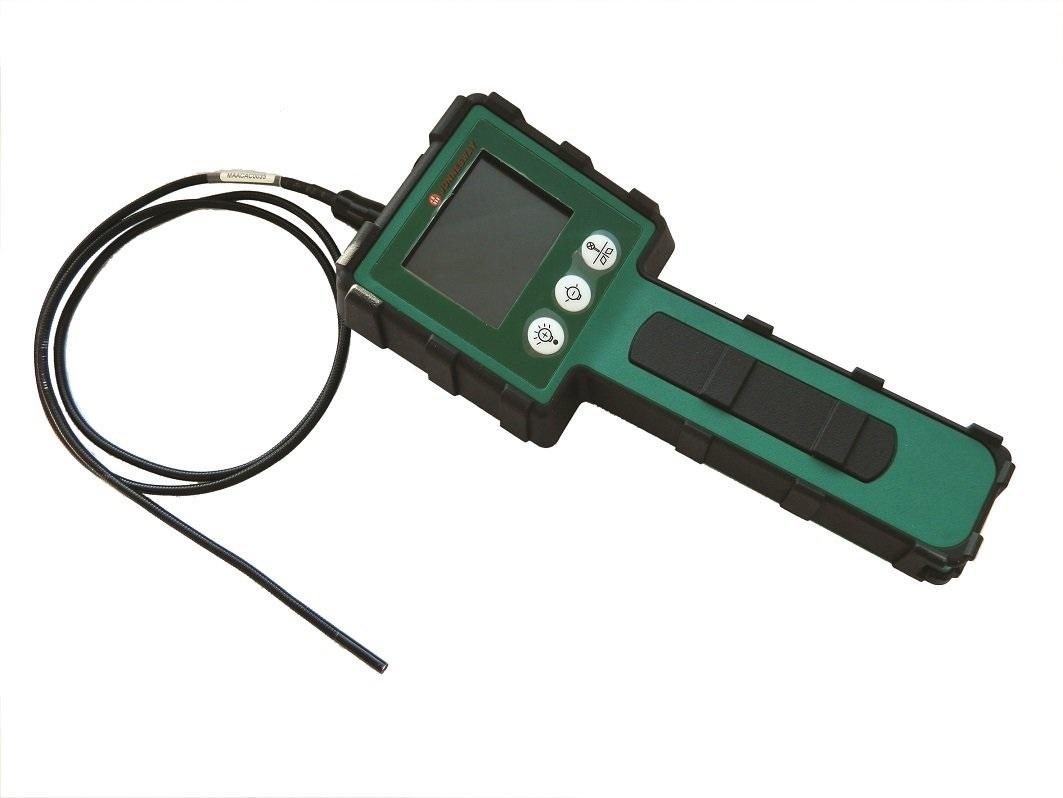 Inspekční endoskop s kamerou a monitorem, pružný kabel 1 metr - JONNESWAY AR020078