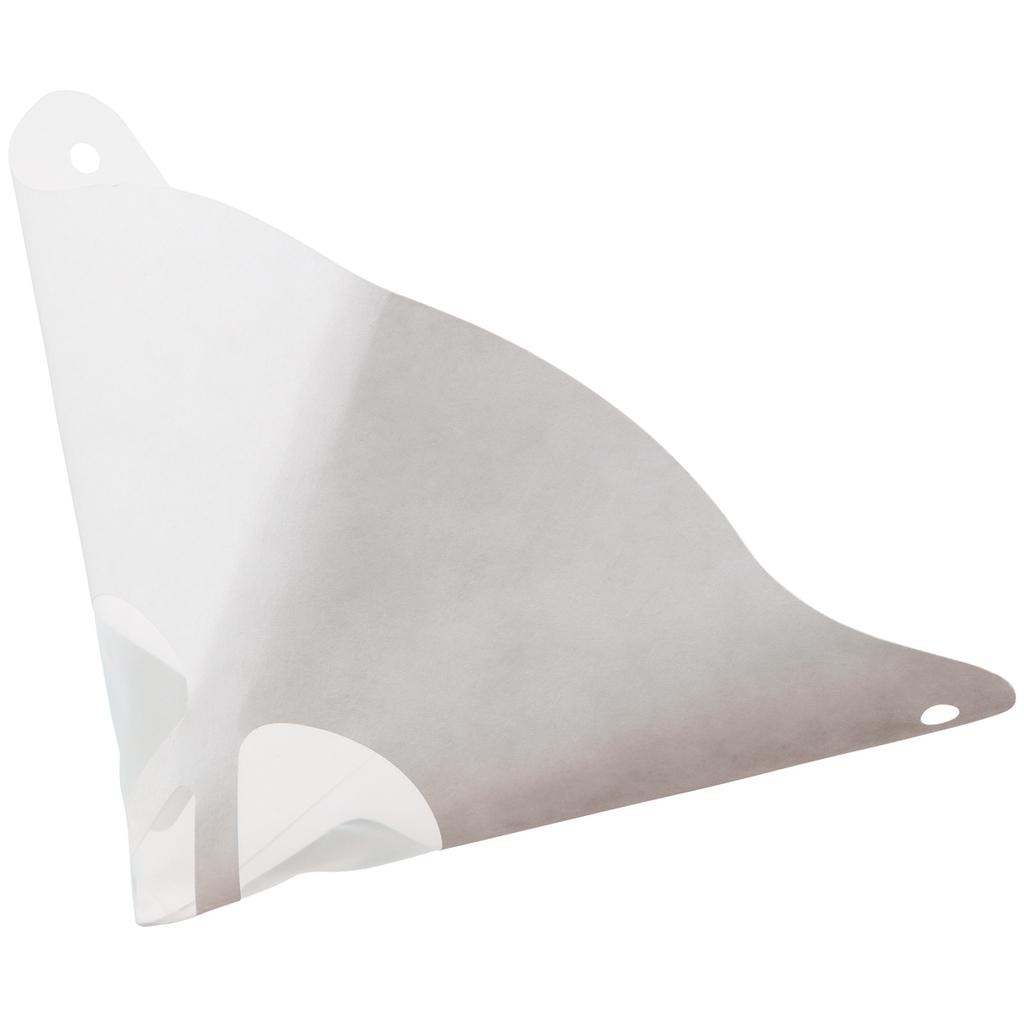 Filtry na barvy papírové, jednorázové, 190 micronů, bílá barva, 250 ks - KS TOOLS 500.8061