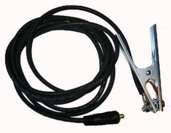 Kabel ke svářečce, délka 3 m, průměr 16 mm, 10-25 se zemnící svěrkou 300A