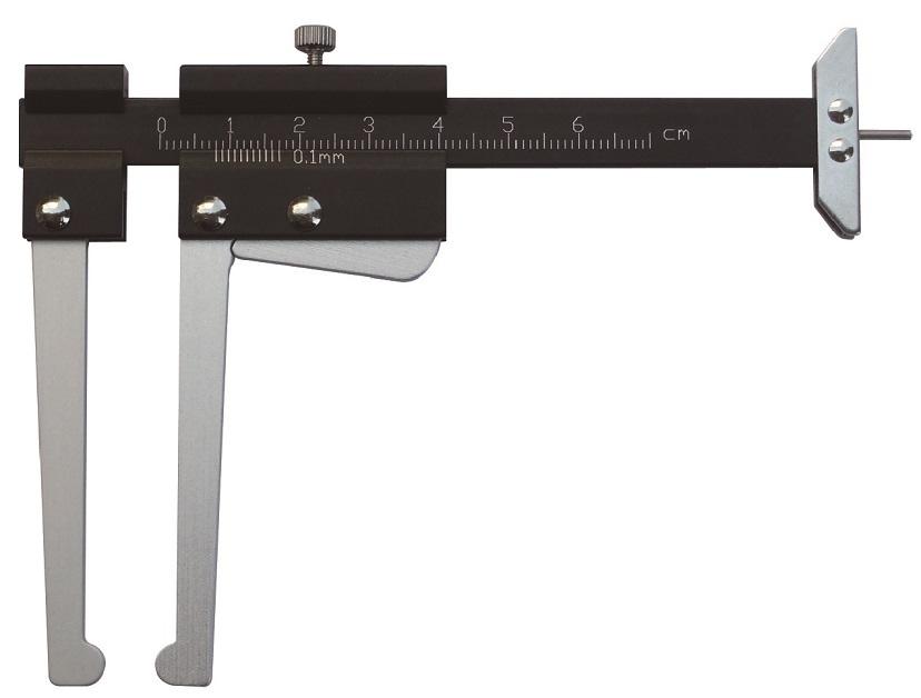 Kalibr pro měření tloušťky brzdových kotoučů / meřič dezénu - JONNESWAY AN010226