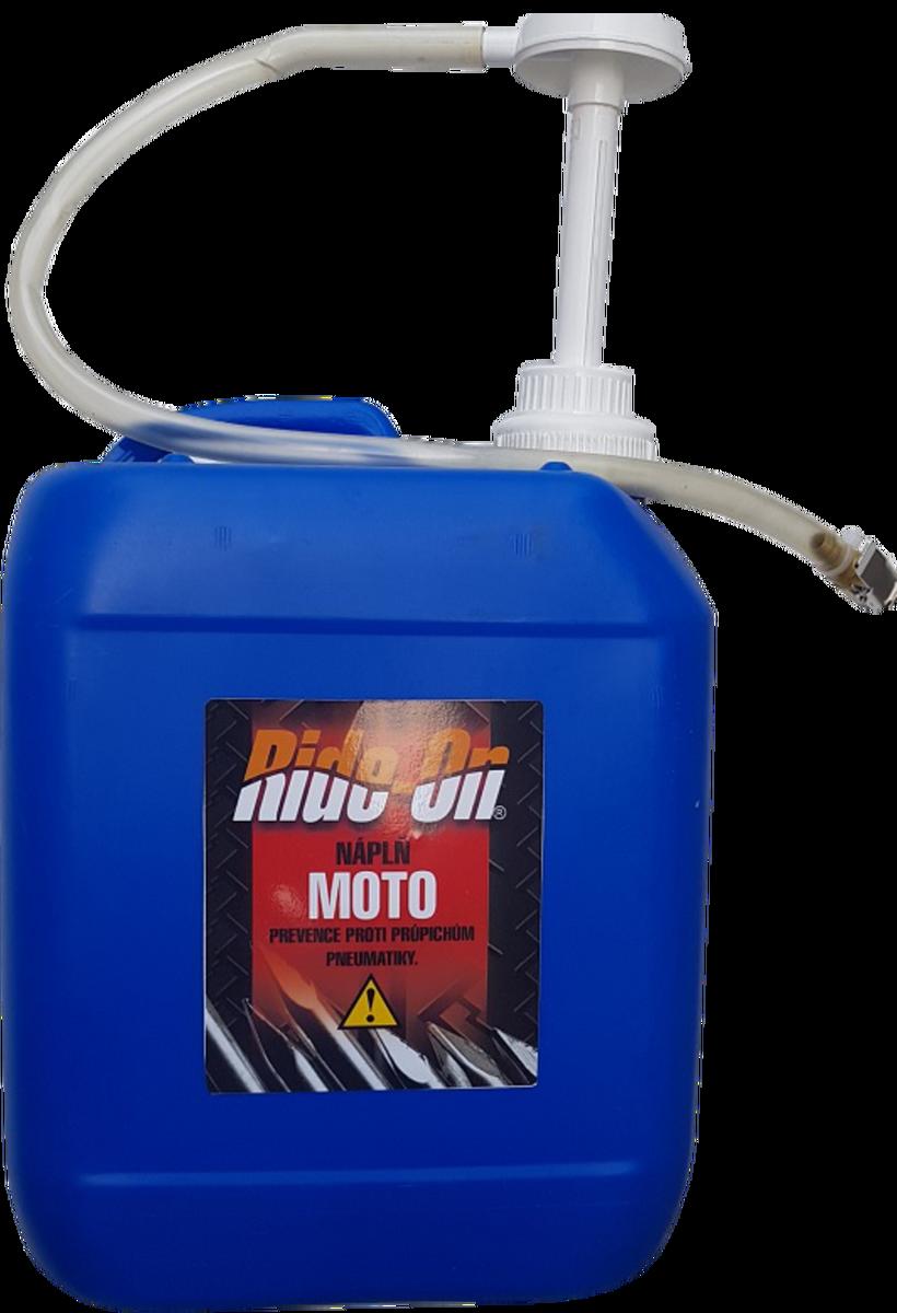 Gel ochranný na zalepení a vyvážení moto pneu, kanystr 4.75 l - Ride-On