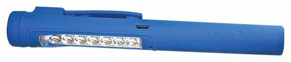 Kapesní tužková inspekční svítilna LED COB, nabíjecí mikro USB - ASTA
