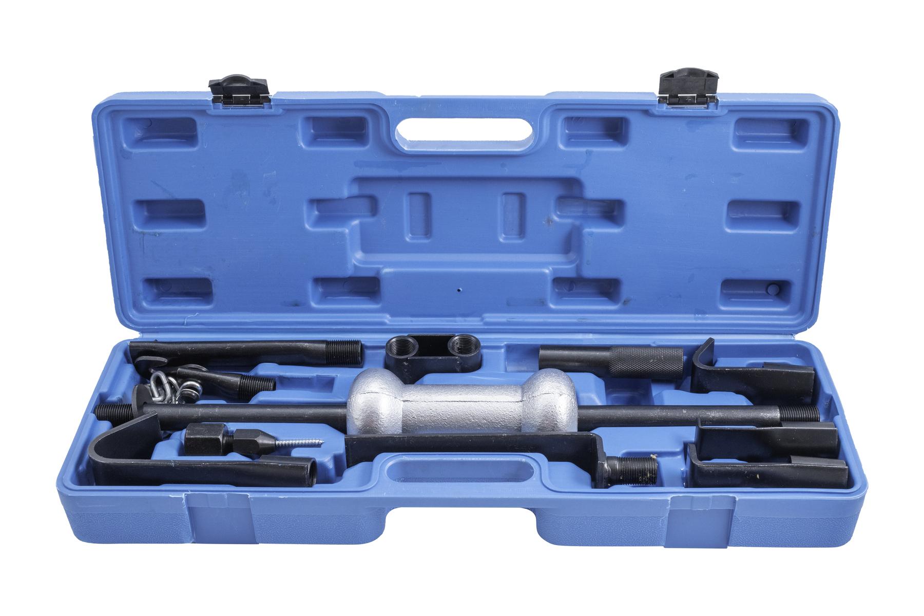 Karosářská / klempířská sada s reverzním (rázovým) kladivem pro vytahování - QS11145
