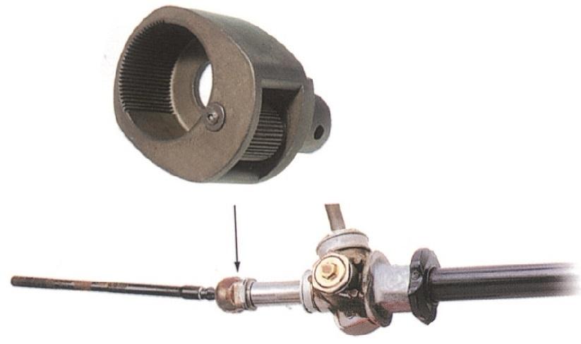 Klíč na montáž a demontáž tyče řízení, průměr 32-42 mm - JONNESWAY AN010092