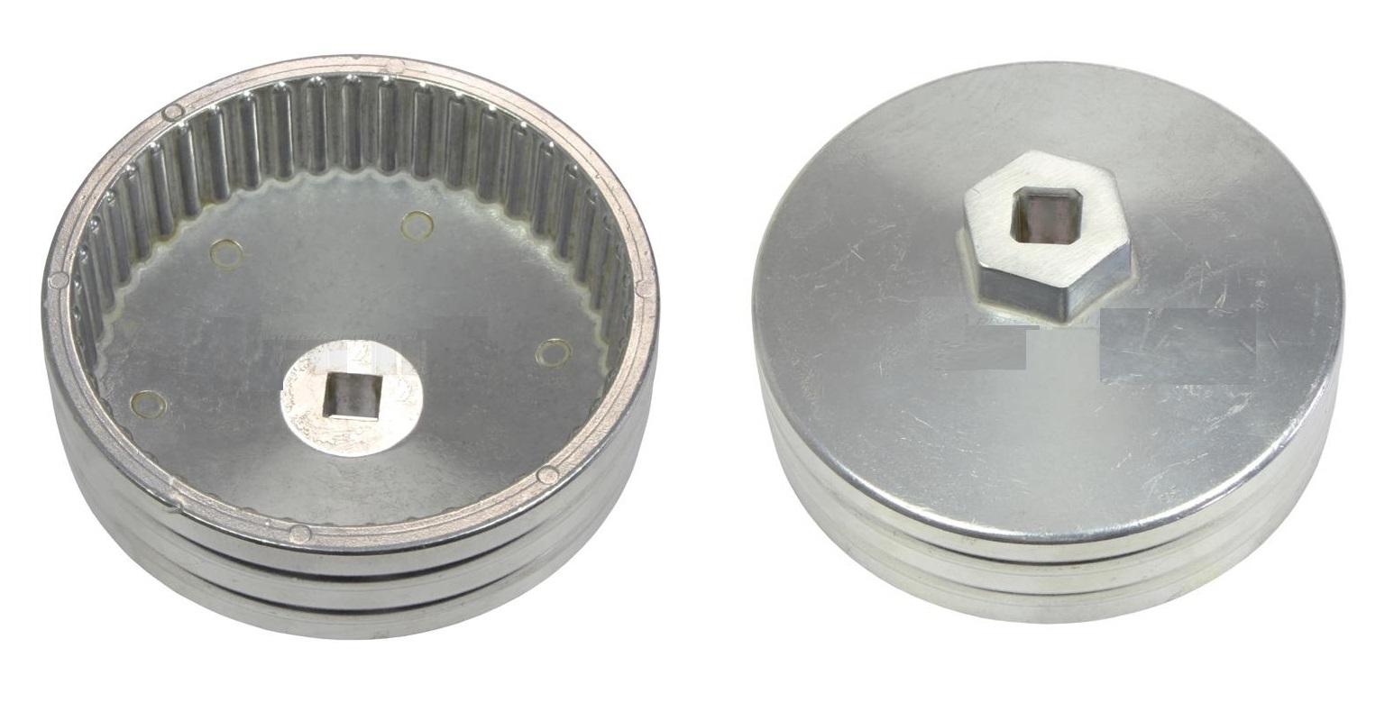 Klíč na olejové filtry 93 mm, 45 zubů, hliníkový, koncern VAG 2.4, 2.6, 2.8 litru diesel