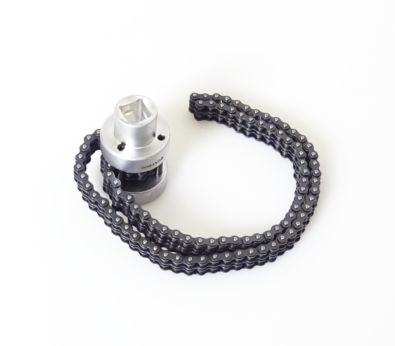 """Klíč na olejové filtry s dvojitým řetězem 1/2"""", rozsah 73 - 170 mm - QUATROS QS60603"""