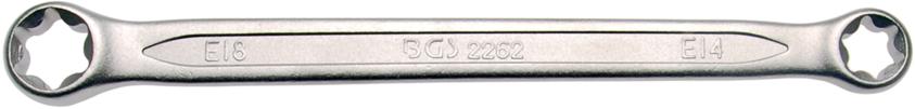Klíč očkový pro E-profil E14xE18 BGS