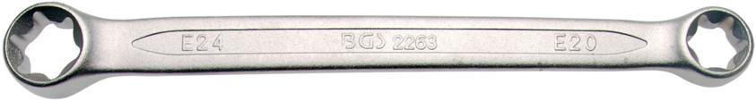 Klíč očkový pro E-profil E20xE24 BGS