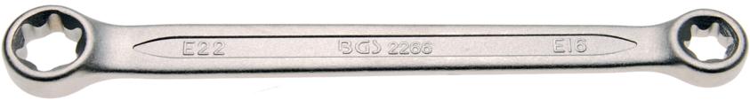 Klíč očkový pro E-profil E16xE22 BGS