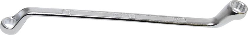 Klíč očkový tvrzený, vyhnutý - BGS 1214-10x11