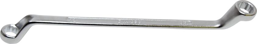 Klíč očkový tvrzený, vyhnutý - BGS 1214-12x13