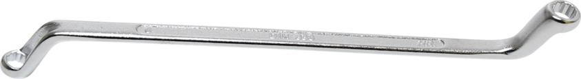 Klíč očkový tvrzený, vyhnutý - BGS 1214-6x7