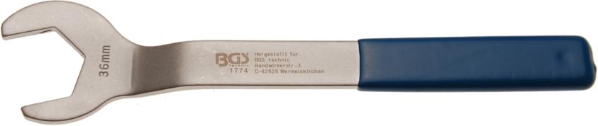 Klíč 36mm plochý speciální pro Visco spojky Ford, Opel, GM - BGS 1774