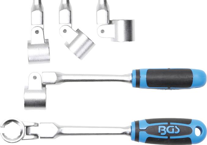 Klíč pro Lambda sondu s kloubem 22mm - BGS 8272