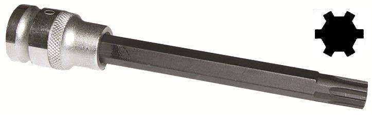 """Klíč RIBE M10, na demontáž hlavy motoru VAG 1.8 20V, 1/2"""", extra dlouhý 140 mm - ASTA"""
