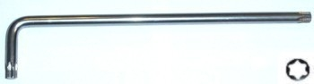 Klíč Torx extra dlouhý, velikost T10, délka 90 mm - JONNESWAY H12S10090