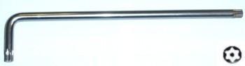 Klíč Torx s otvorem extra dlouhý, velikost T30, délka 165 mm - JONNESWAY H08ST30165