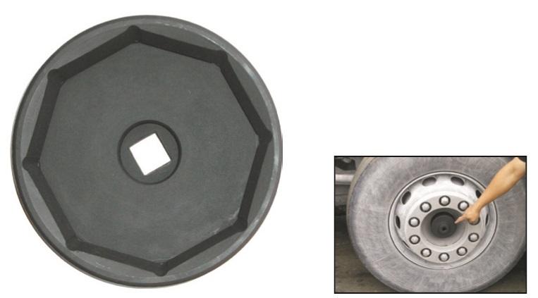 """Klíč úderový na náboj přední nápravy VOLVO Trucks, 8hran 115mm, 3/4"""" - JONNESWAY AN040107"""