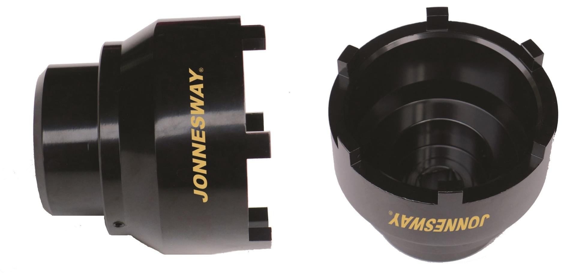 Klíč úderový na náboj zadní nápravy MERCEDES, MAN, 6 zubů, 95-115 mm - JONNESWAY AN040158