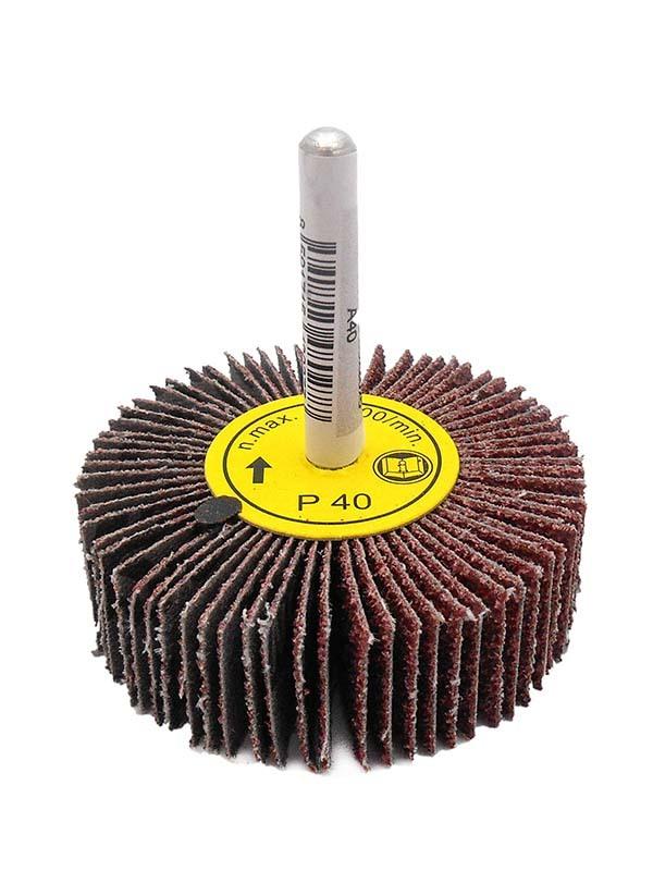 Kotouč brusný lamelový P100, 60x20 mm, na stopce 6 mm