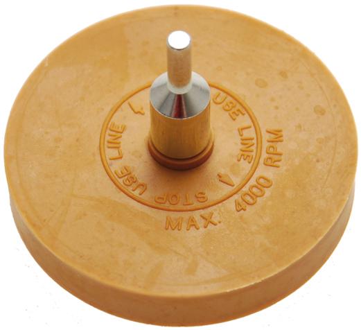 Kotouč gumový pro odstranění samolepek - BGS 3999