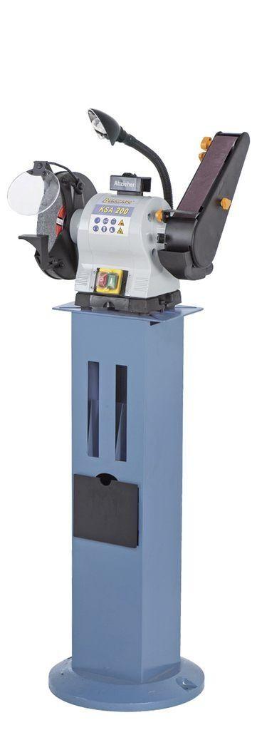 Kotoučová a pásová bruska 230 V 500 W, pracovní osvětlení - Bernardo KSA 200