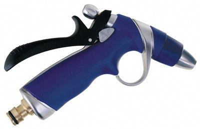 Postřikovací pistole na vodu regulovatelná, kovová