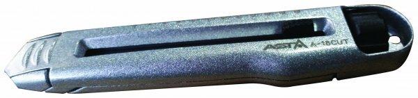 Odlamovací nůž 18 mm, kovový - ASTA
