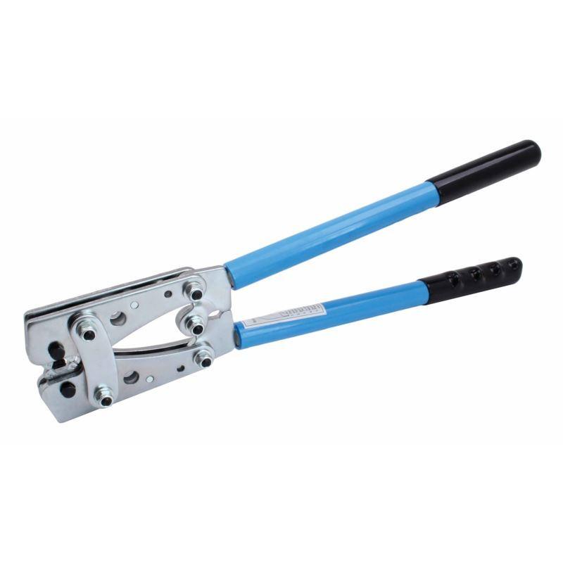 Krimpovací kleště na kabelová oka, rozsah 6-50 mm2 - SATRA