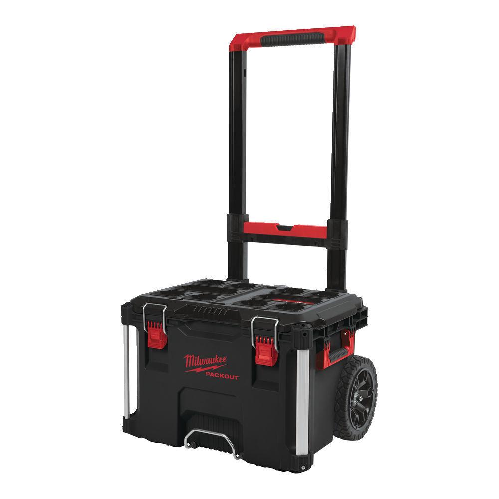 Kufr-box na nářadí Packout pojízdný, 560x410x480 mm - Milwaukee 4932464078