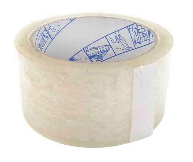 Lepící páska 50 mm x 66 m, univerzální, průsvitná