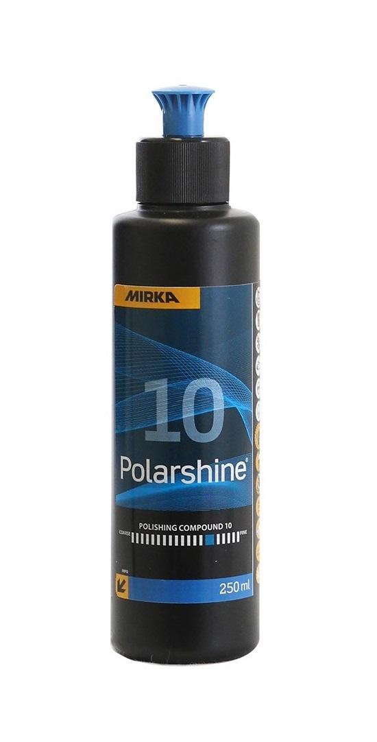 Lešticí pasta Polarshine 10, středně hrubá, 250 ml
