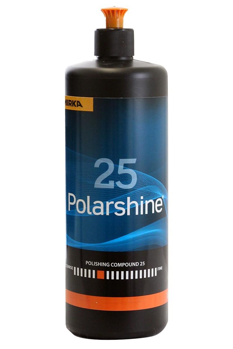 Lešticí pasta Polarshine 25, pro strojní leštění, 1 litr