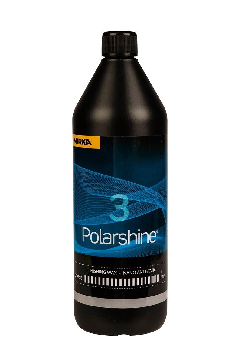 Lešticí pasta Polarshine 3, antistatická ultra jemná, 250 ml