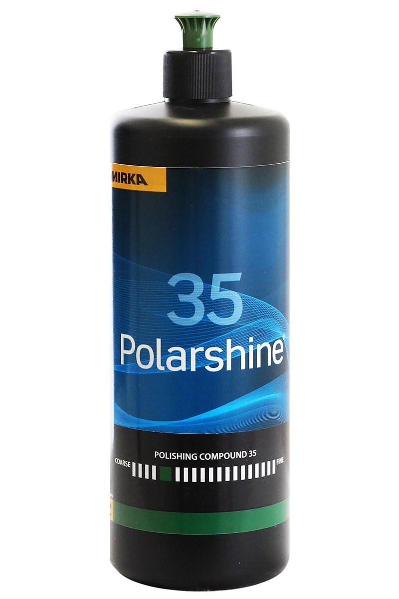 Lešticí pasta Polarshine 35, hrubá, 1 litr