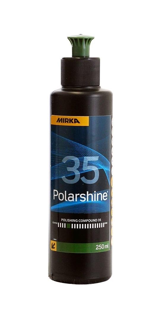 Lešticí pasta Polarshine 35, hrubá, 250 ml