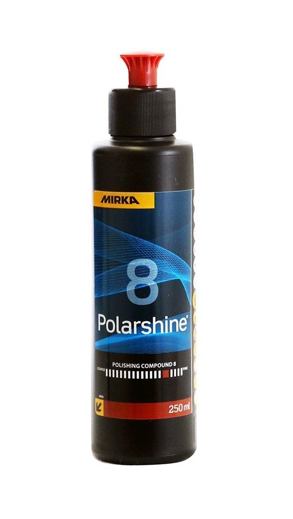 Lešticí pasta Polarshine 8, pro vysoký lesk, 250 ml