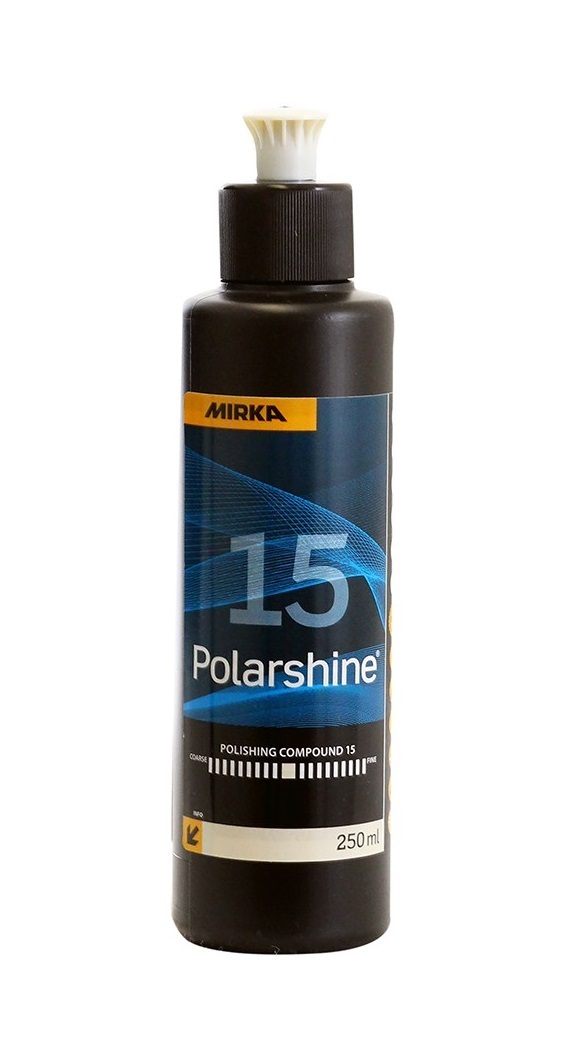 Lešticí pasta Polarshine 15, pro staré i nové laky, 250 ml