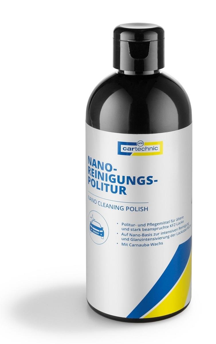 Nano čistič laku - leštidlo na karosérie s karnaubským voskem, 250 ml - Cartechnic