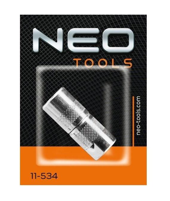 Mazací koncovka - spojka, M10 x 1, 4 čelisti - NEO tools 11-534