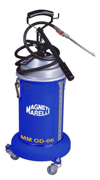 Maznice ruční na 13 kg maziva, pojízdná, hadice 250 cm - Magneti Marelli MM-0D-06