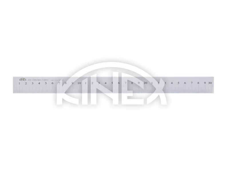 Měřítko ocelové ploché 500 mm, DIN 866/B - KINEX