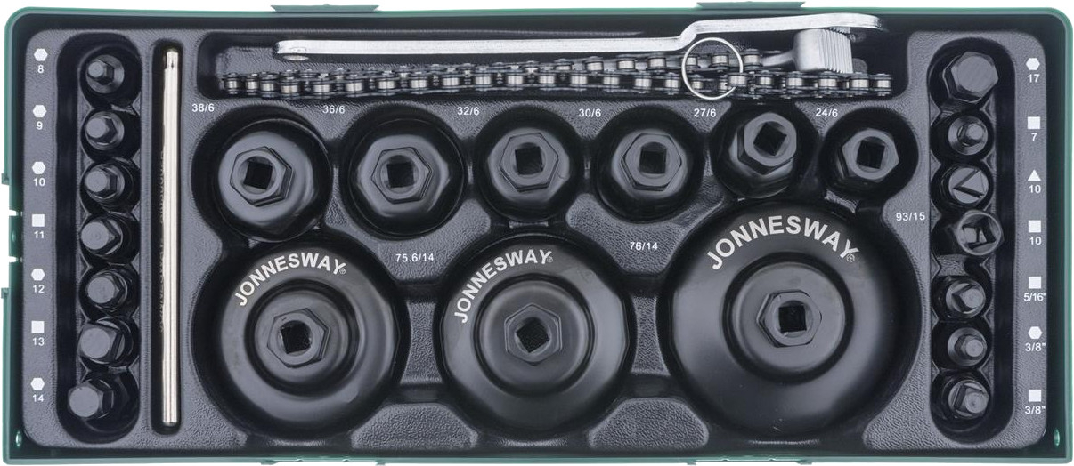 Modul plastový - hlavice na olejové filtry a šrouby olejových van - JONNESWAY AI10003SP