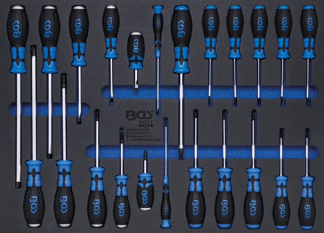 Modul - šroubováky 23ks - BGS