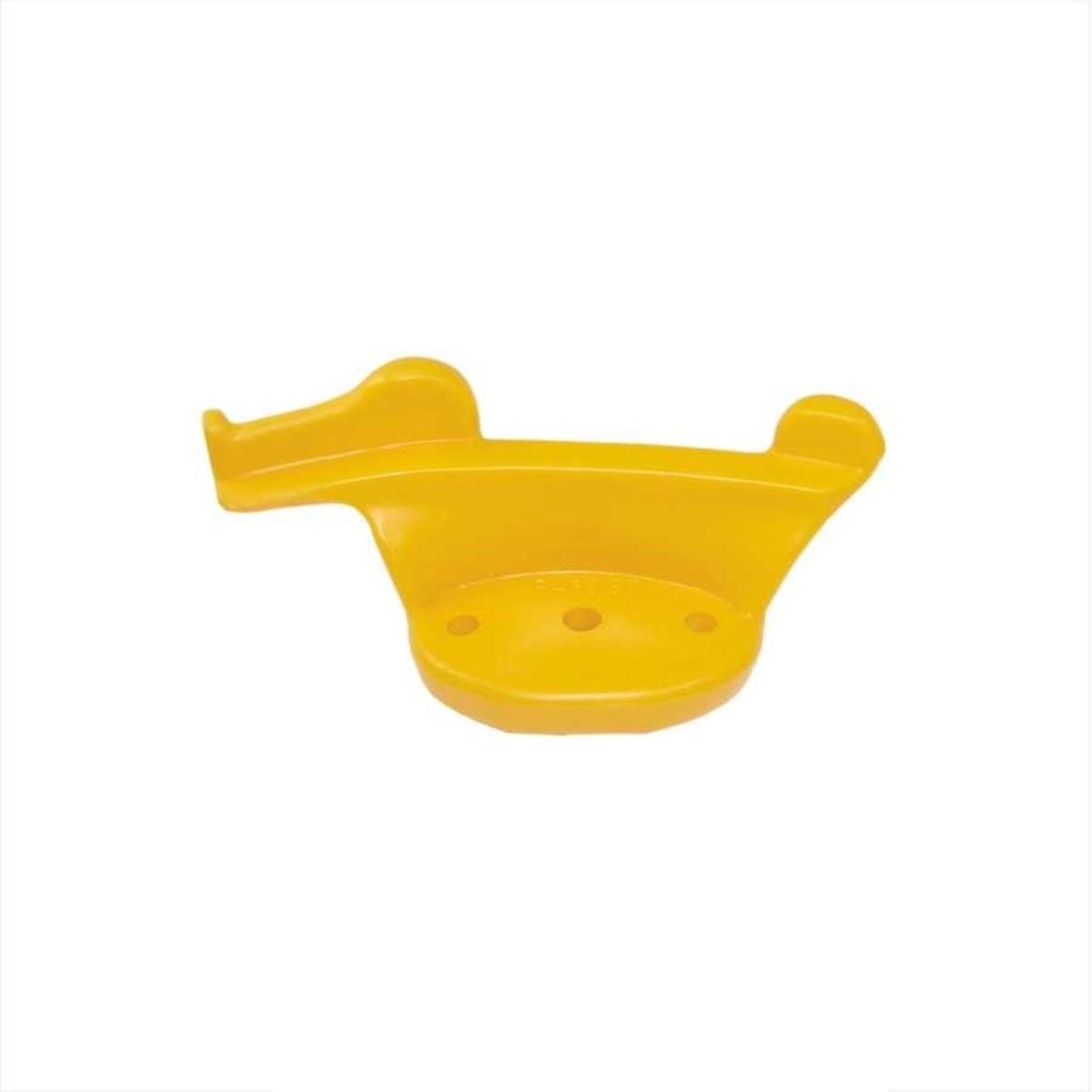 Zouvací hlava plast, pro zouvačky pneumatik, univerzální, žlutá