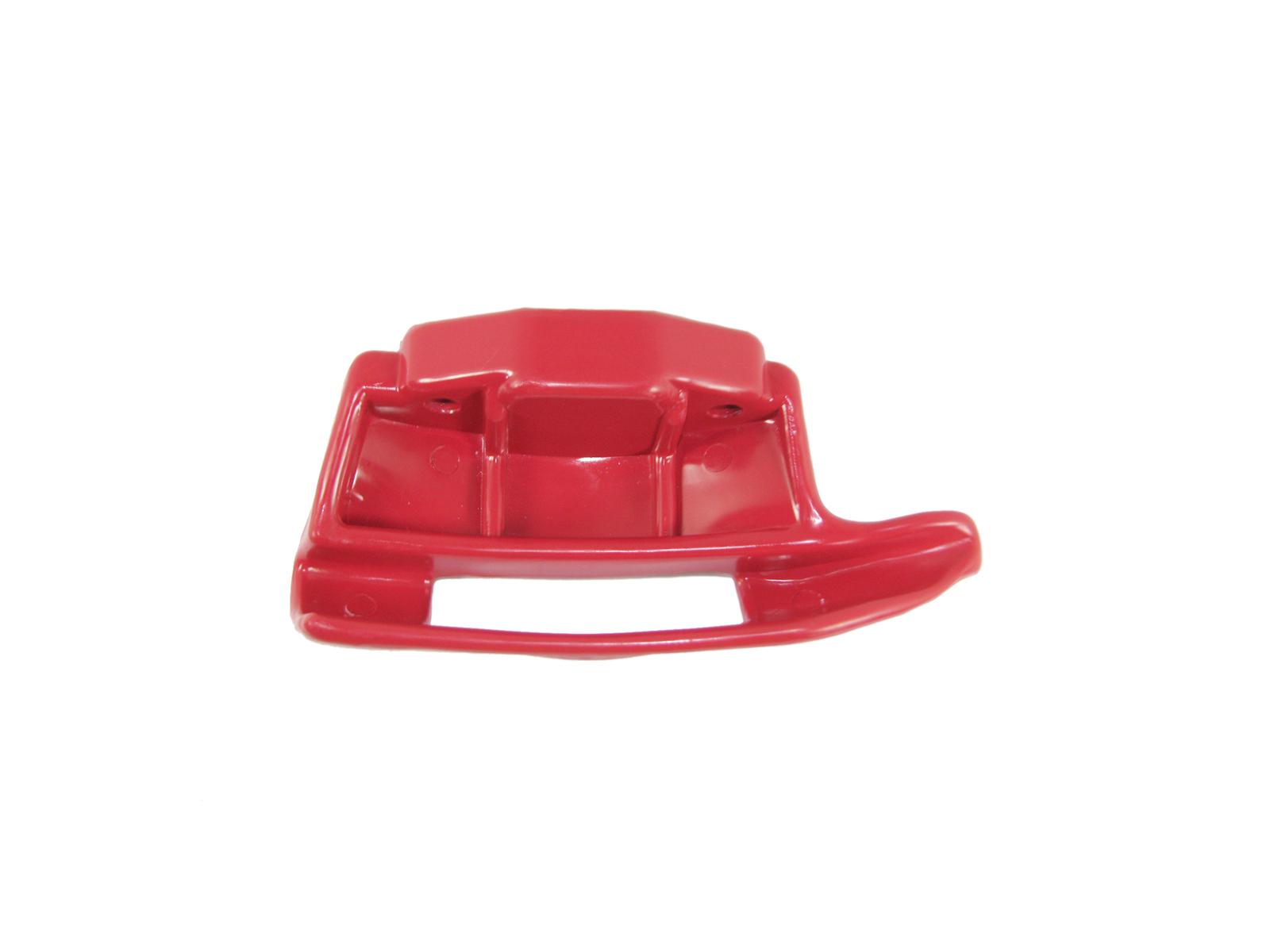 Zouvací hlava plast, pro zouvačky pneumatik, univerzální, červená