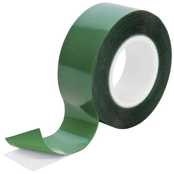 Montážní lepicí páska oboustranná, průhledná, 2 metry - Petec