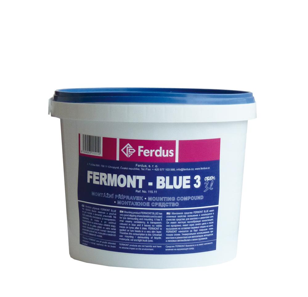 Montážní přípravek FERMONT BLUE 3, 3000 ml - Ferdus 115.11
