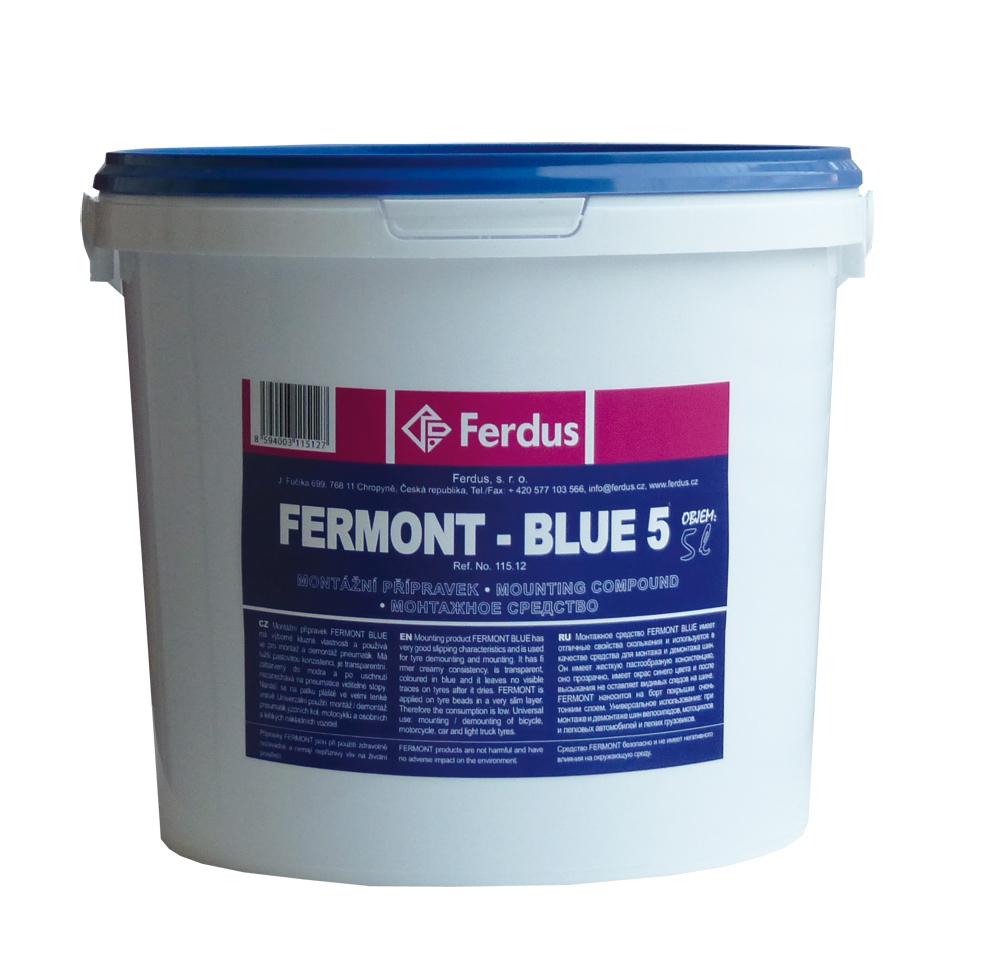Montážní přípravek FERMONT BLUE 5, 5000 ml - Ferdus 115.12